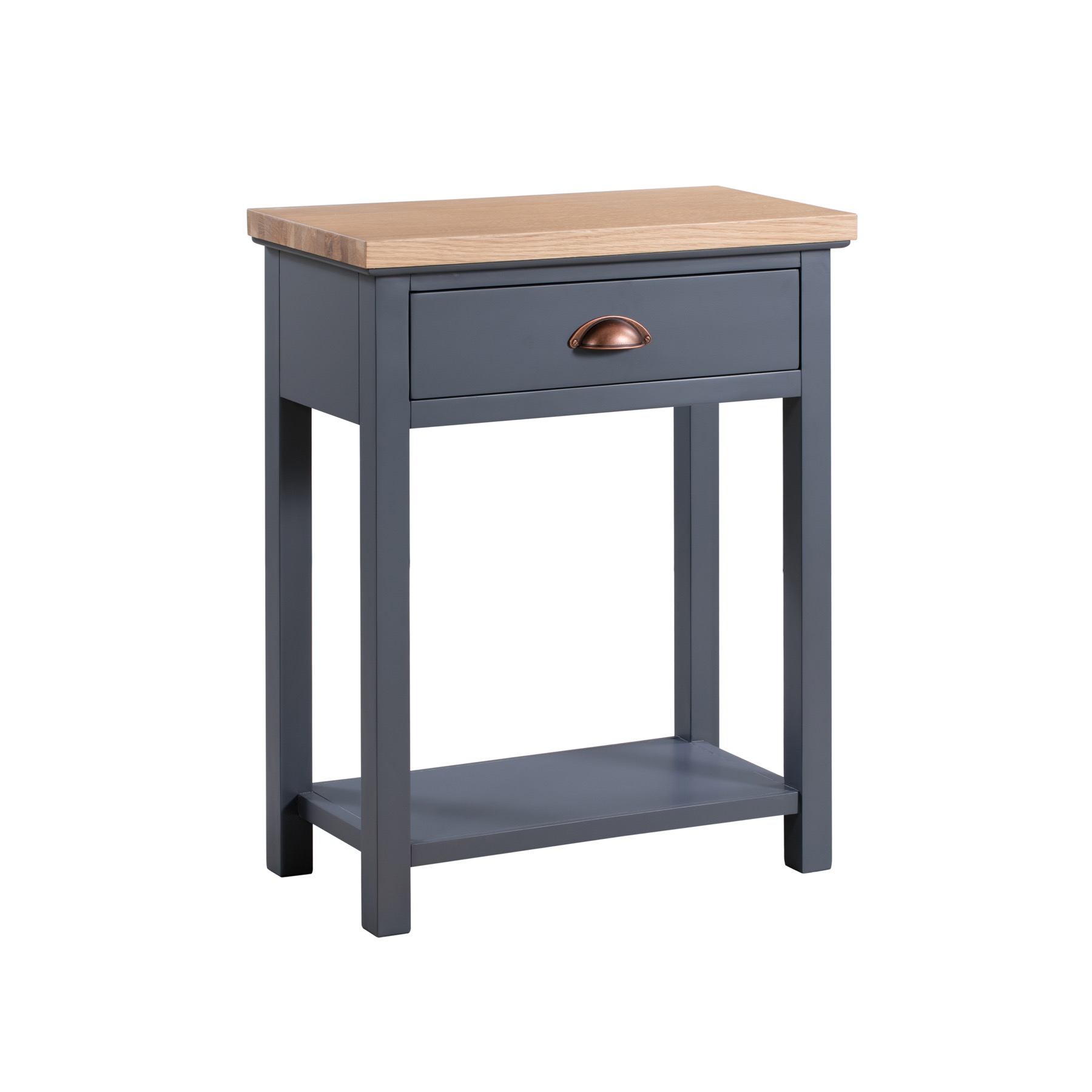 Small Grey Console Table - Grayson Range