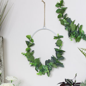 Small Round Eucalyptus Hanging Decoration