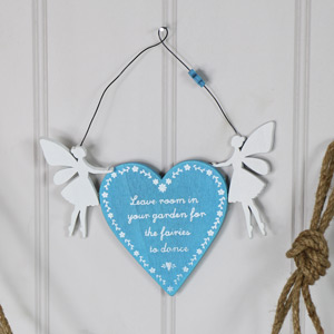 "Sparkling Fairy ""Believe"" Hanging Decoration"