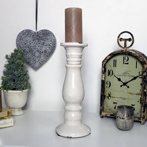 Tall Ceramic Candle Stand