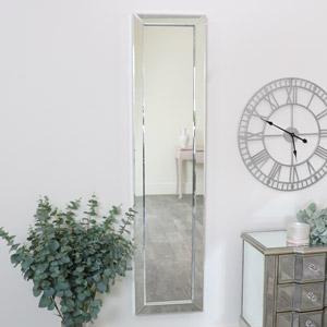 Tall Slim Venetian Wall Mirror 36cm x 153cm