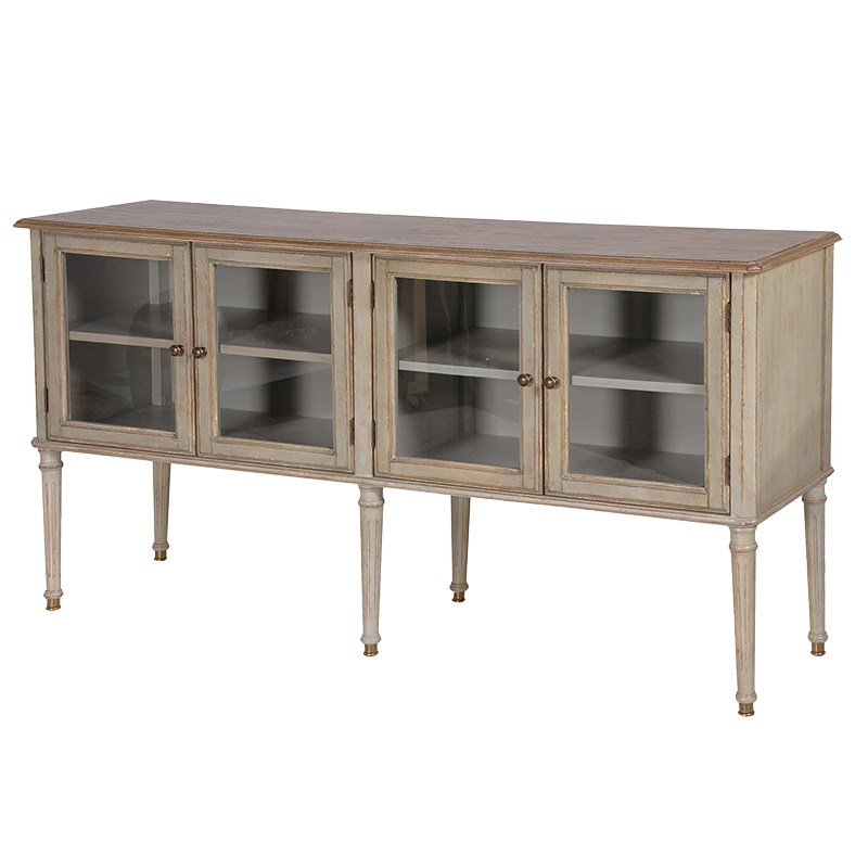 The Aston Range - Large Glazed Sideboard