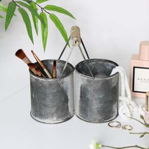 Tin Storage Caddy
