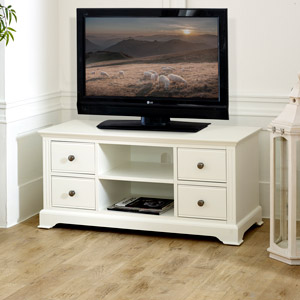 TV Cabinet / Media Unit - Davenport White Range
