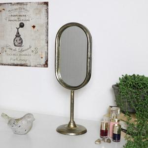 Vintage Gold Vanity Mirror