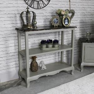 Vintage Grey Sideboard/Console Table - Leadbury Range