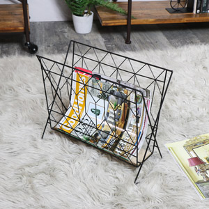 Vintage Retro Magazine Rack
