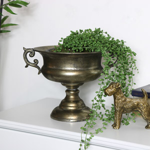 Vintage Pewter Urn