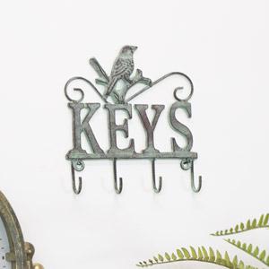 Vintage Wall Mounted Key Hooks