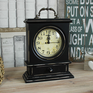 Vintage Wooden Mantel Clock