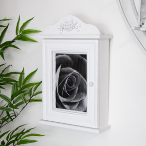 Wall Mounted Photograph Frame Key Cabinet