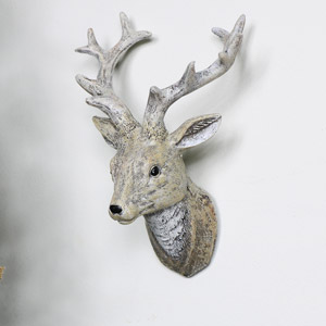 Wall Mounted Christmas Reindeer  Head