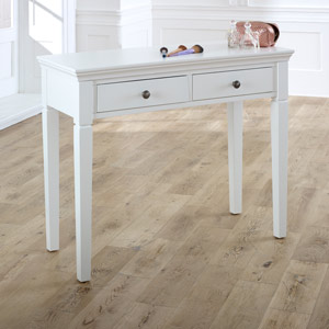 Newbury White Console Table