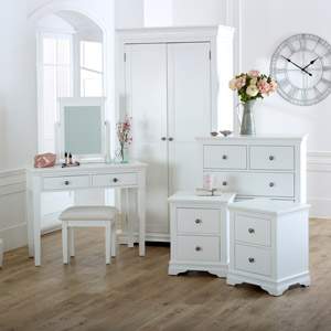 Newbury White Bedroom Furniture Set