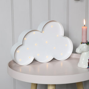 White LED Cloud Light Wall Decoration