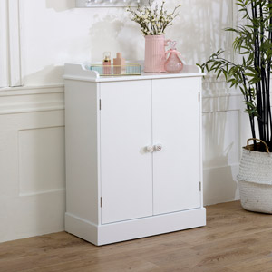 White Sideboard Cupboard Unit - Lila Range