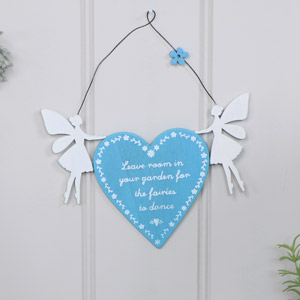 Wooden Fairy Garden Plaque