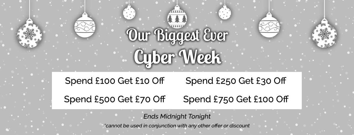 Cyber Week Ends Midnight